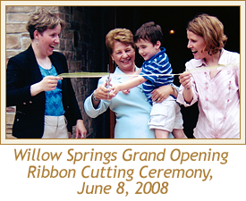 Willow Springs Grand Opening Ribbon Cutting Ceremony, June 8, 2008